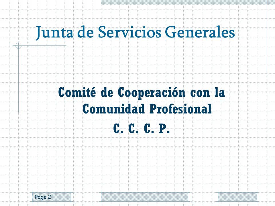 Page 1 CENTRAL MEXICANA DE SERVICIOS GENERALES DE ALCOHÓLICOS ANÓNIMOS, A. C. (CMSGAA) Integrante de Servicios Mundiales de Alcohólicos Anónimos C.C.C