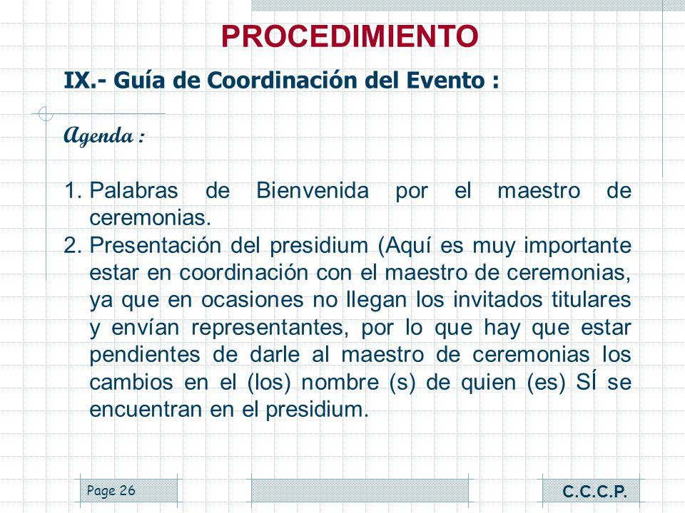 Page 25 VIII.- Desarrollo del Evento : Sugerencias para el evento: Organización : Qué hace y qué no hace Alcohólicos Anónimos (ver Pág. 68 del manual