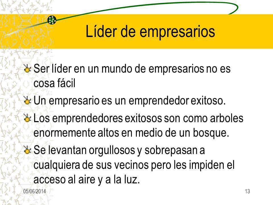 Líder de empresarios Ser líder en un mundo de empresarios no es cosa fácil Un empresario es un emprendedor exitoso. Los emprendedores exitosos son com