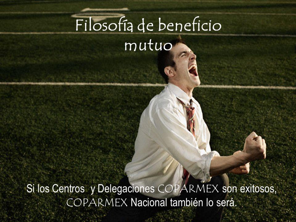 Si los Centros y Delegaciones COPARMEX son exitosos, COPARMEX Nacional también lo será.