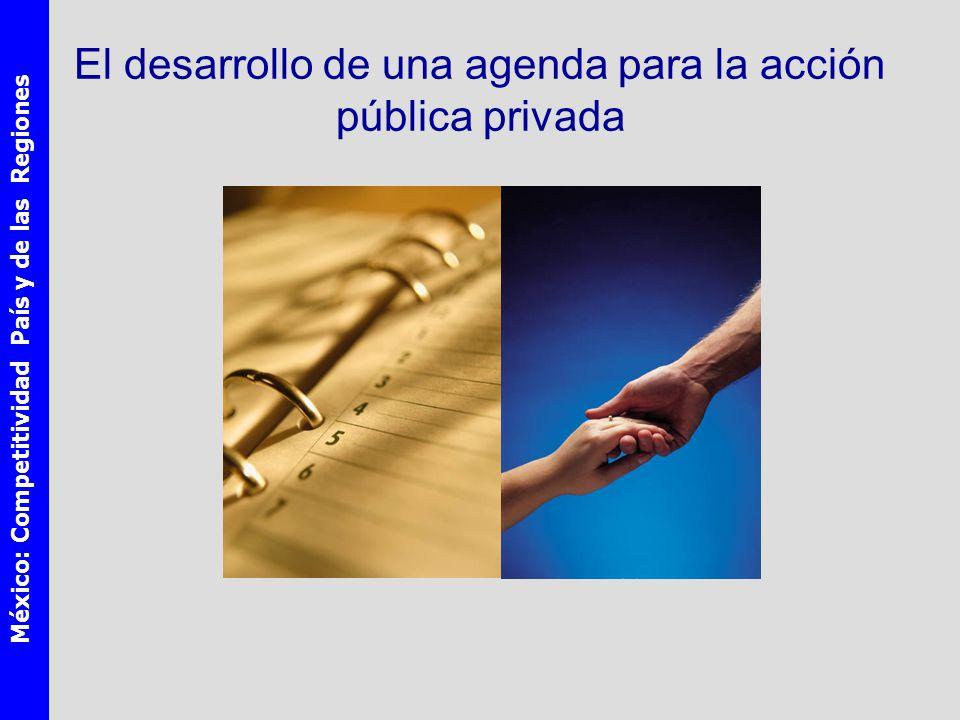 México: Competitividad País y de las Regiones El desarrollo de una agenda para la acción pública privada