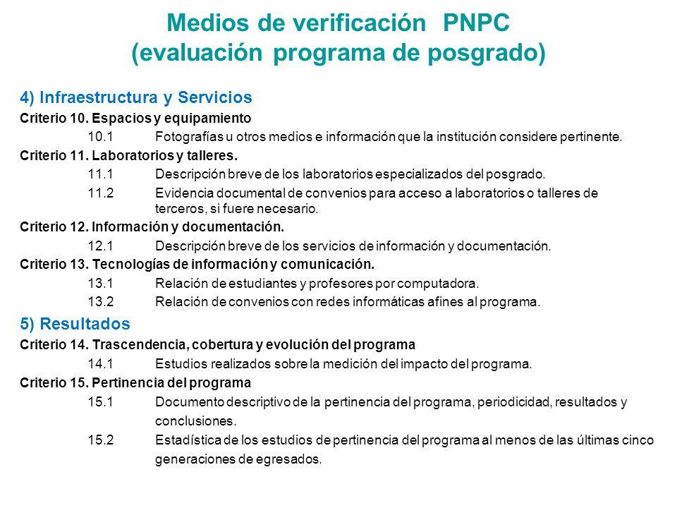 4) Infraestructura y Servicios Criterio 10.