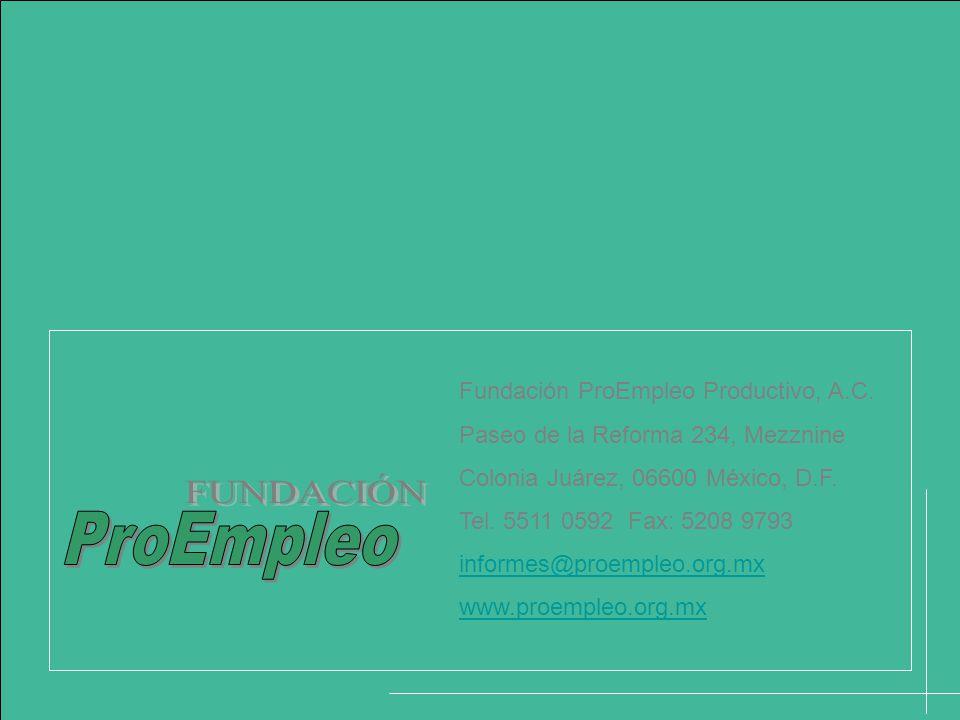 Fundación ProEmpleo Productivo, A.C.
