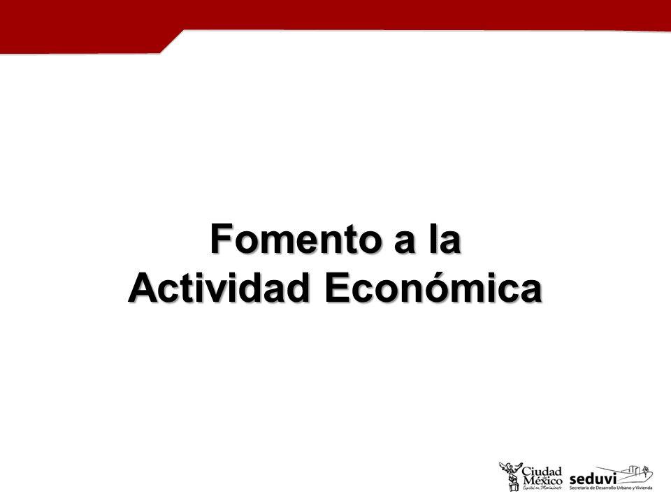 Fomento a la Actividad Económica