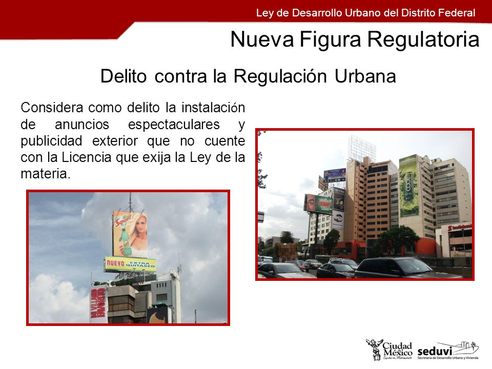 Formatos Ley de Desarrollo Urbano del Distrito Federal