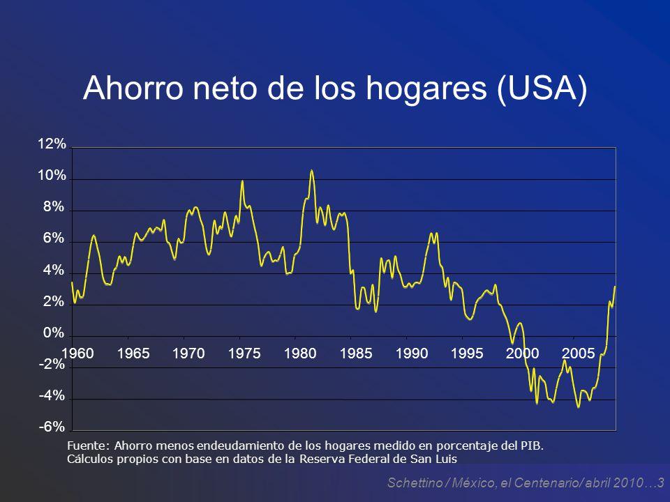Schettino / México, el Centenario/ abril 2010…4 Crisis bancaria
