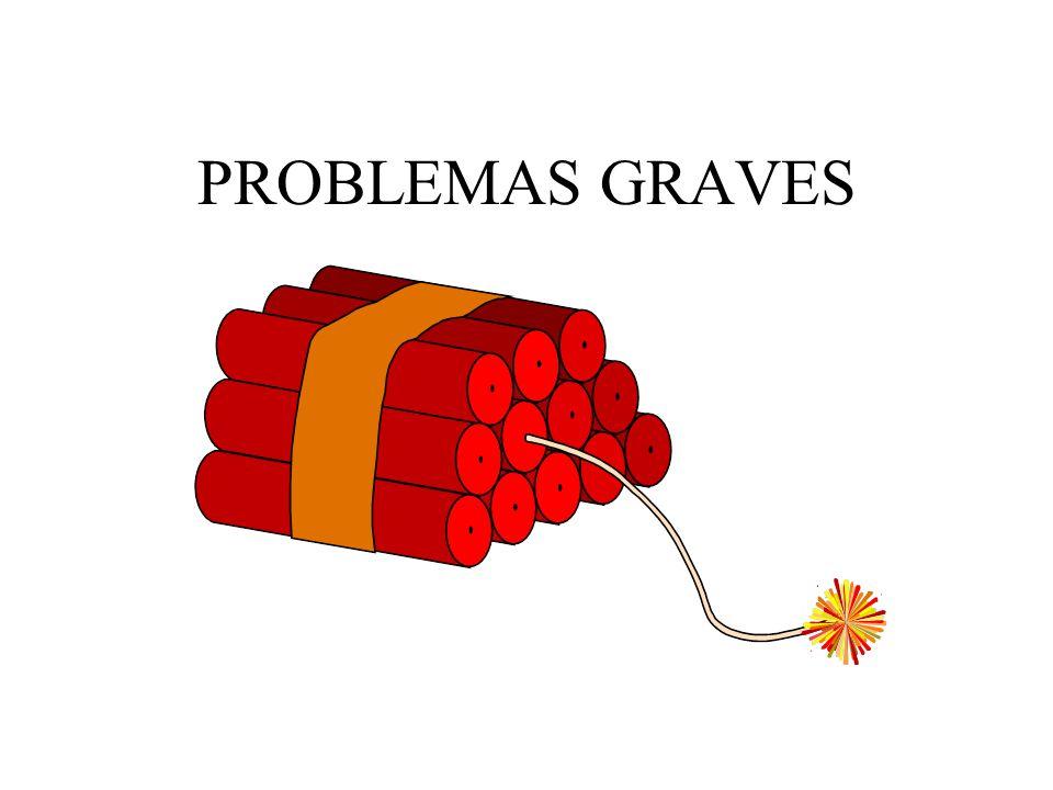 PROBLEMAS GRAVES
