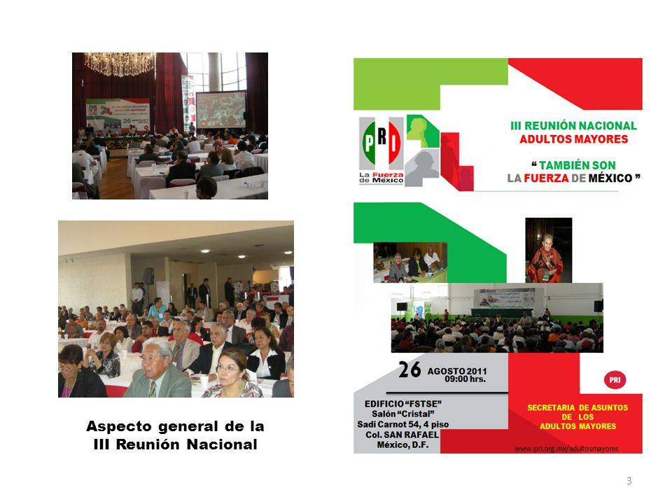 Aspecto general de la III Reunión Nacional 3