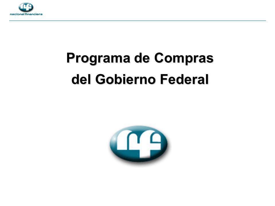 Programa de Compras del Gobierno Federal