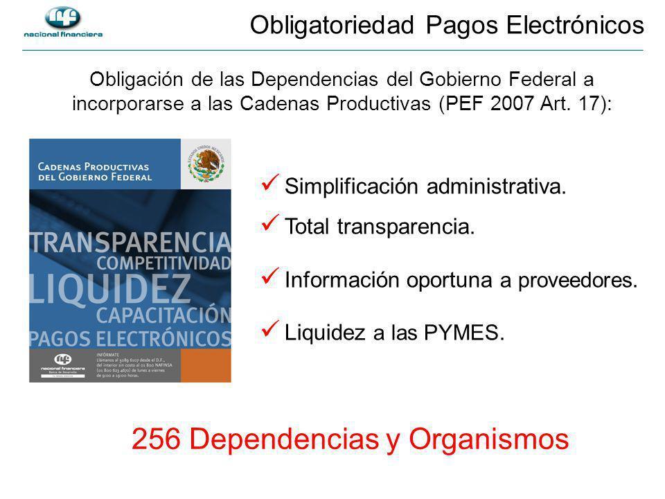 Obligatoriedad Pagos Electrónicos Simplificación administrativa.
