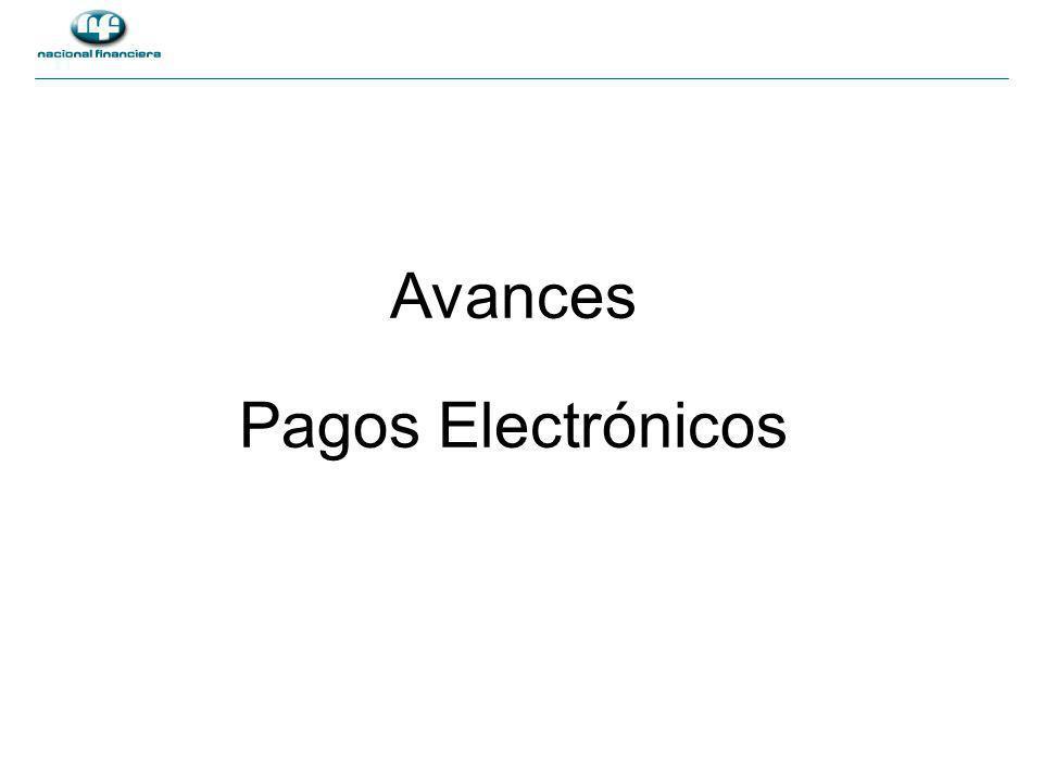 Avances Pagos Electrónicos