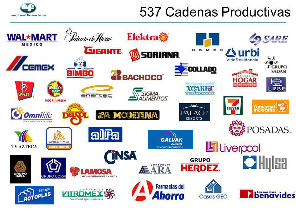 537 Cadenas Productivas