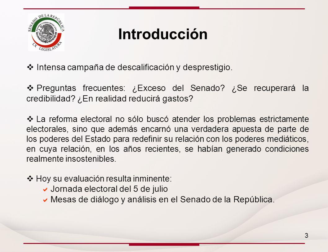 Introducción Intensa campaña de descalificación y desprestigio.