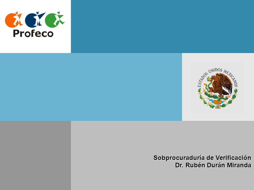 Sobprocuraduría de Verificación Dr. Rubén Durán Miranda