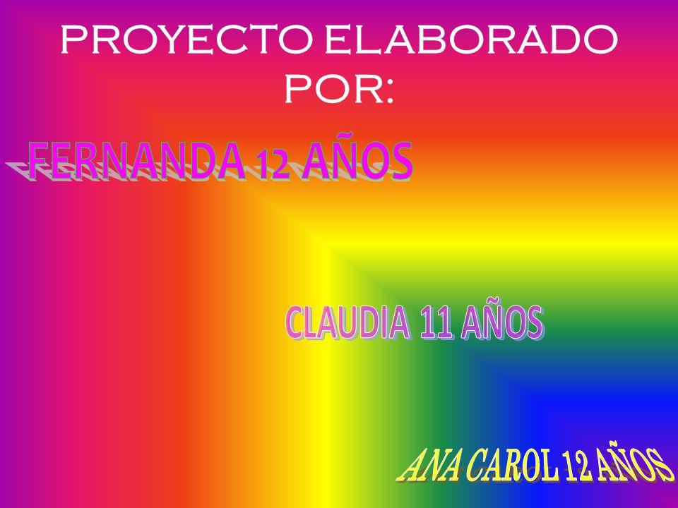 PROYECTO ELABORADO POR: