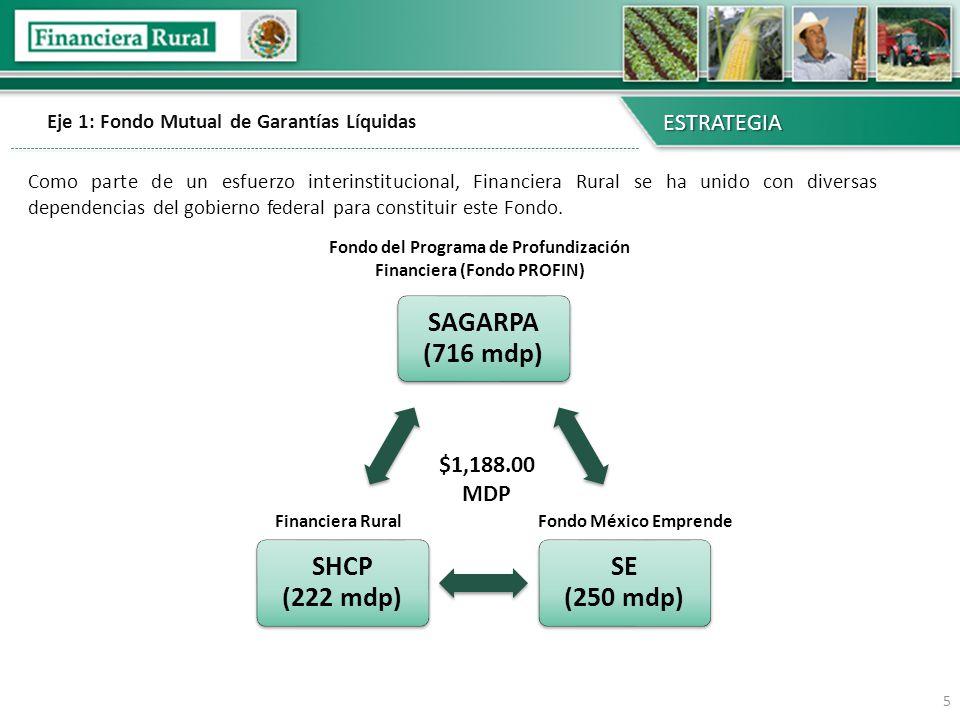 6 CARTERA DE CRÉDITO FONDO MUTUAL DE GARANTÍAS LÍQUIDAS OTRAS GARANTÍAS LÍQUIDAS (PRIMERAS PÉRDIDAS) MITIGANTES DE RIESGO El Fondo Mutual de Garantías Líquidas permitirá establecer un nuevo enfoque en la administración de riesgos de Financiera Rural ESTRATEGIA Es importante señalar que el Fondo Mutual NO sustituye las garantías que se exigen a los productores y NO los exime de pagar puntualmente sus créditos.
