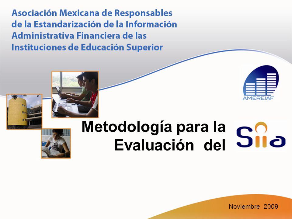 Metodología para la Evaluación del Noviembre 2009