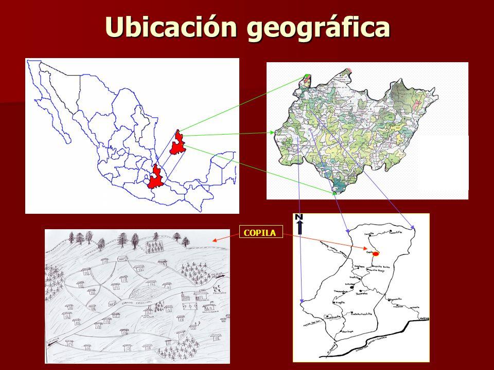 Ubicación geográfica COPILA
