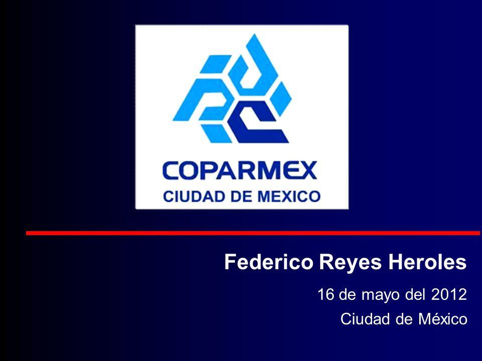 Federico Reyes Heroles 16 de mayo del 2012 Ciudad de México