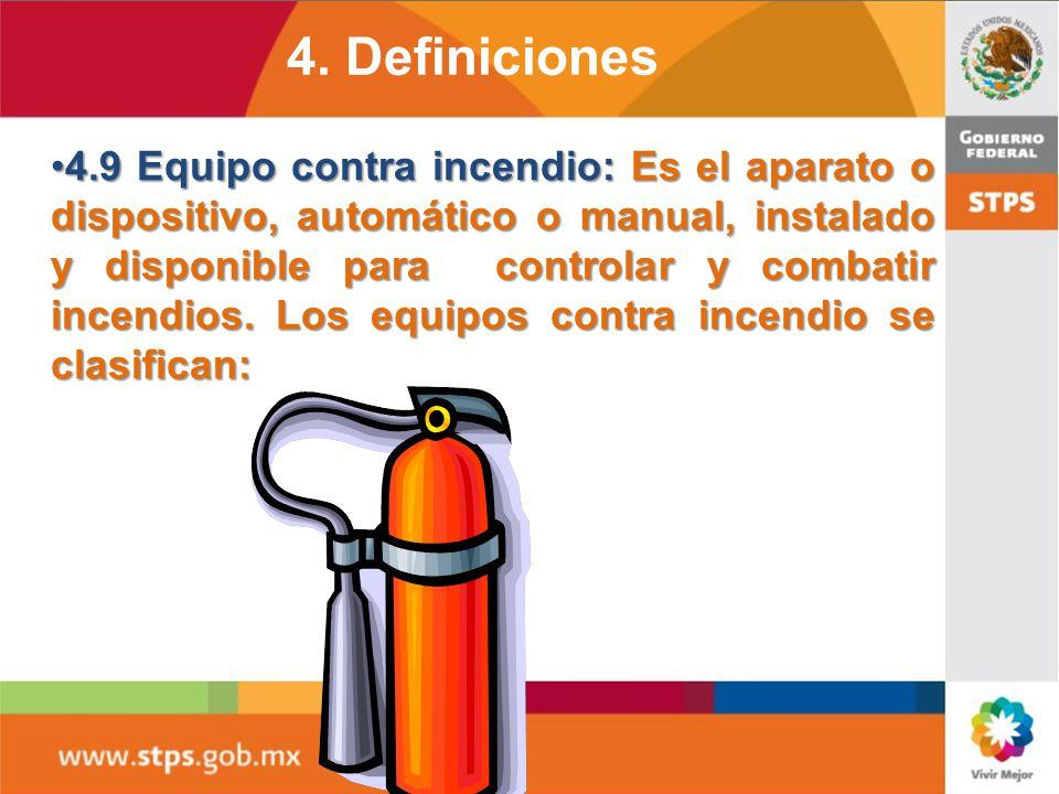 4. Definiciones 4.5 AUTORIDAD LOCAL DE PROTECCIÓN CIVIL.4.5 AUTORIDAD LOCAL DE PROTECCIÓN CIVIL. 4.6 BRIGADA CONTRA INCENDIO: EL GRUPO DE TRABAJADORES