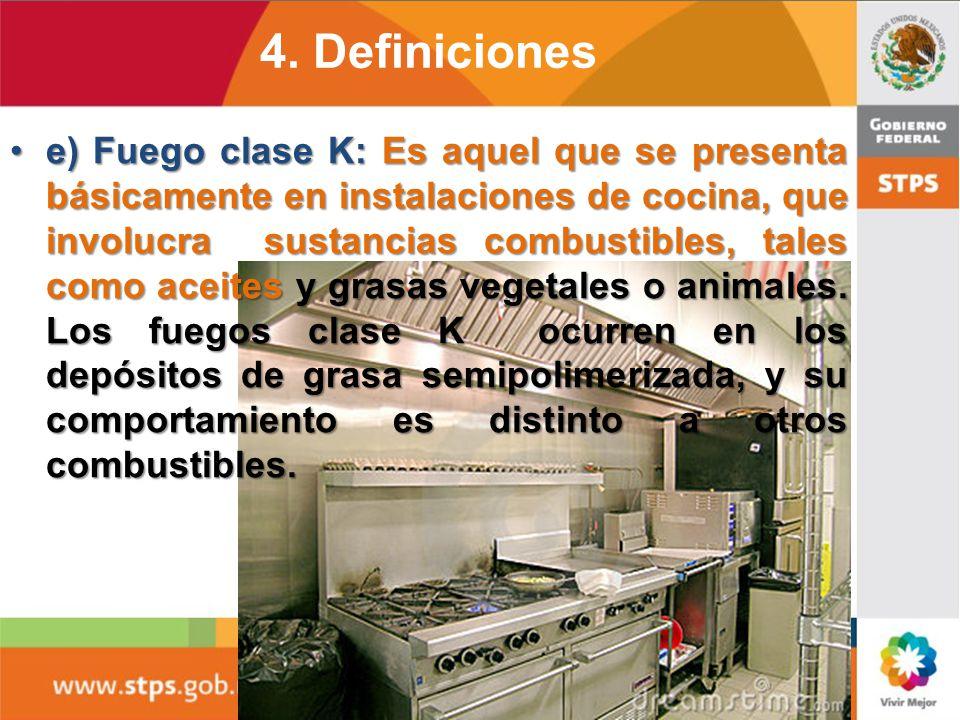 d) Fuego clase D: Es aquel en el que intervienen metales combustibles, tales como el magnesio, titanio, circonio, sodio, litio y potasio, yd) Fuego cl