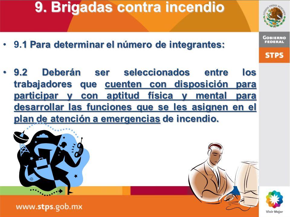 8. PLAN DE ATENCIÓN A EMERGENCIAS DE INCENDIO Se considerarán cumplidos los requisitos del Capítulo 8, cuando el Plan de Contingencias vigente y autor