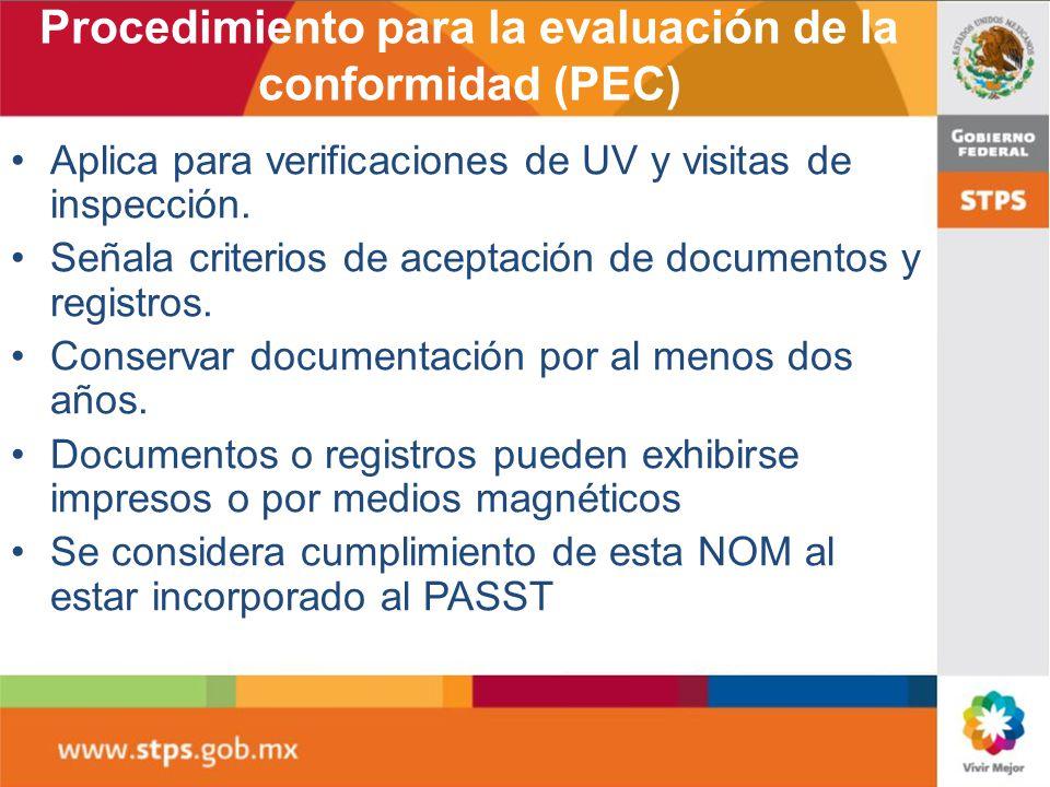 Unidades de verificación Opcional para el patrón Directorio vigente disponible en www.stps.gob.mx www.stps.gob.mx Cumplir con el PEC Emitir dictamen c
