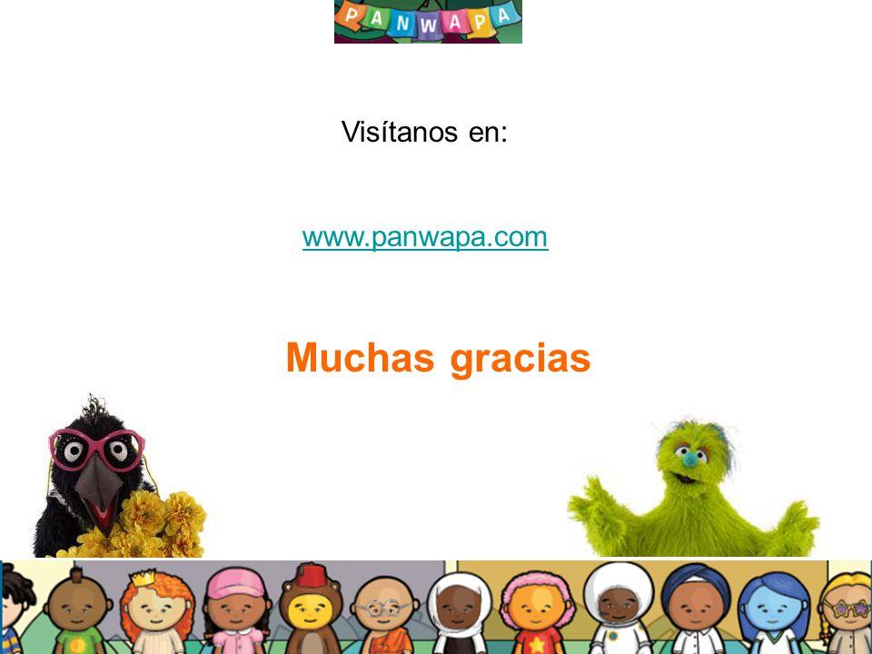 2626 Muchas gracias Visítanos en: www.panwapa.com