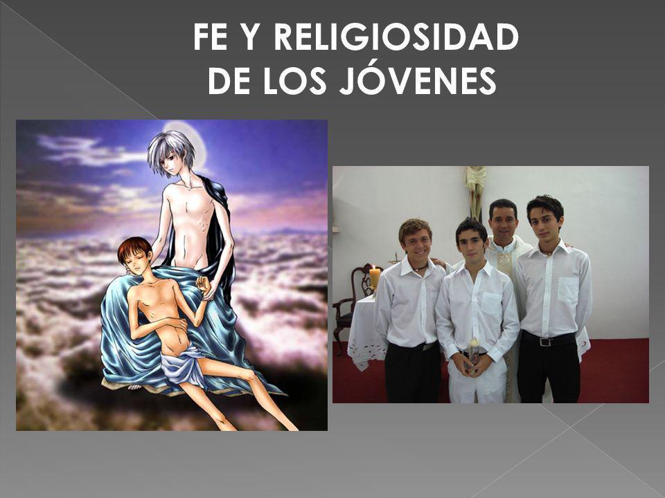 FE Y RELIGIOSIDAD DE LOS JÓVENES