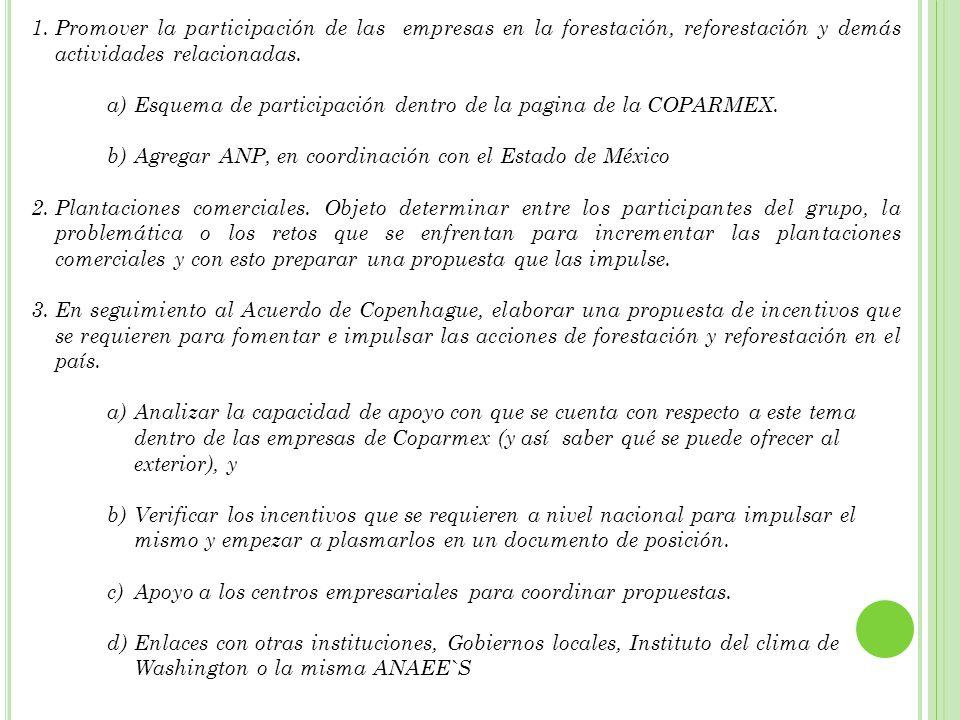 4.Llevar a cabo de manera conjunta con SOS Tierra ( ONG ), la Reforestación anual de la zona de la Mariposa Monarca y coordinación con el Estado de México.
