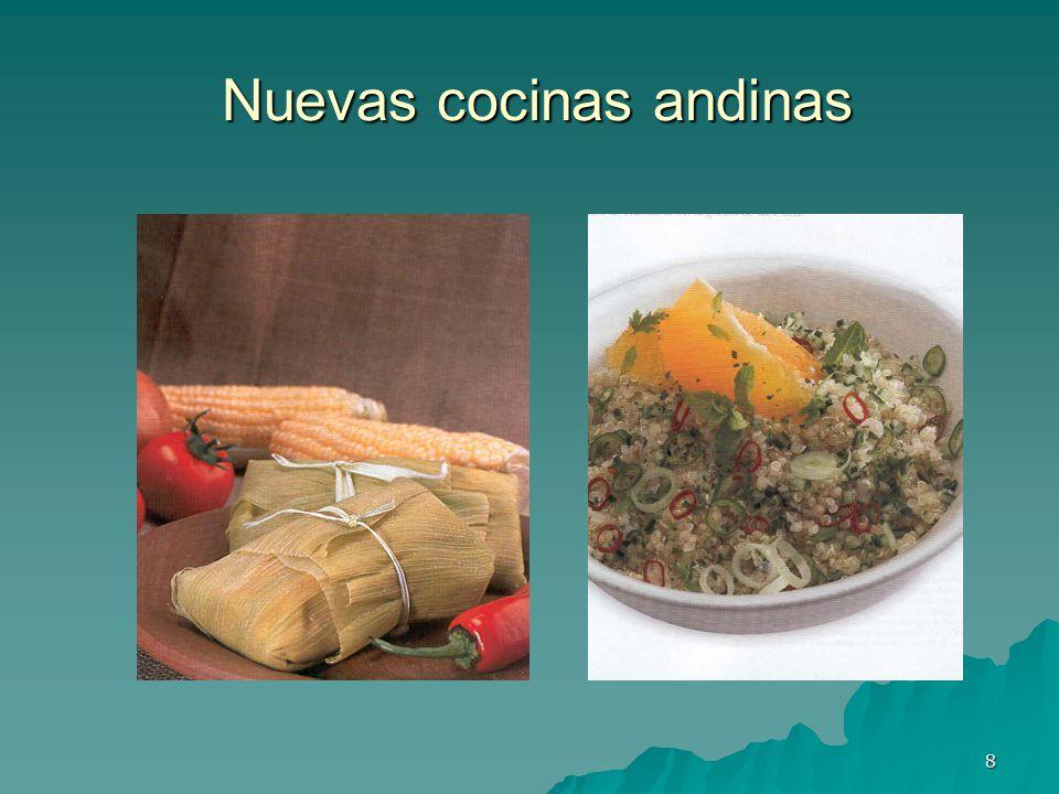 8 Nuevas cocinas andinas Nuevas cocinas andinas