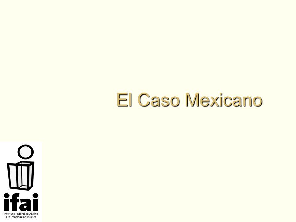 El Caso Mexicano
