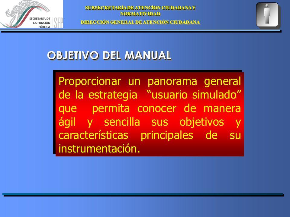 SUBSECRETARÍA DE ATENCÍON CIUDADANA Y NORMATIVIDAD DIRECCIÓN GENERAL DE ATENCIÓN CIUDADANA SUBSECRETARÍA DE ATENCÍON CIUDADANA Y NORMATIVIDAD DIRECCIÓN GENERAL DE ATENCIÓN CIUDADANA Indicadores de Evaluación de Trámites y Servicios Información al Usuario Desempeño del Servidor Público Proceso del Trámite Infraestructura Verificaciones