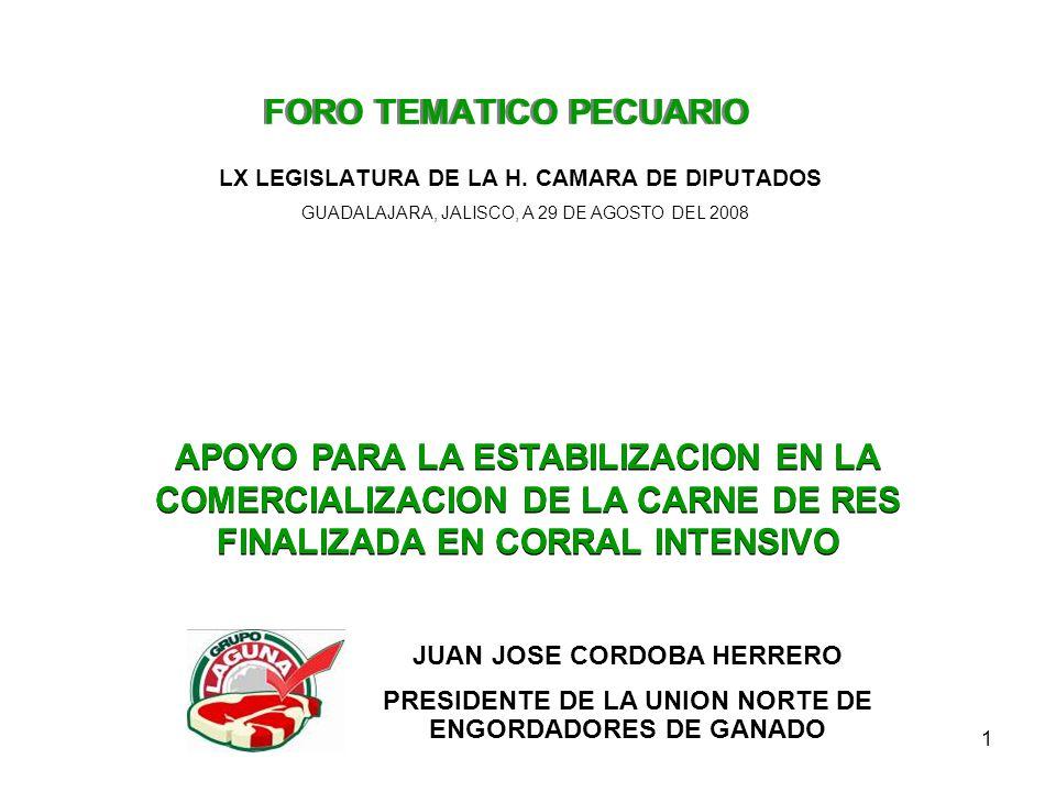 1 FORO TEMATICO PECUARIO LX LEGISLATURA DE LA H.