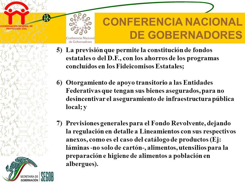 CONFERENCIA NACIONAL DE GOBERNADORES Primera Etapa - Entidad Federativa Esquema del procedimiento desde la ocurrencia del Desastre Natural hasta la recomendación de la CIGF OCURRENCIA DEL DESASTRE NATURAL EL ESTADO INFORMA DE LA OCURRENCIA DEL DESASTRE A LOS MIEMBROS DEL COMITÉ DE EVALUACIÓN DE DAÑOS (CED) LA ENTIDAD FEDERATIVA SOLICITA LA CORROBORACIÓN DEL DESASTRE A LA INSTANCIA TÉCNICA 2 DÍAS LA INSTANCIA TÉCNICA NOTIFICA AL ESTADO DE LA OCURRENCIA DEL DESASTRE EL CED INICIA CON LAS LABORES DE EVALUACIÓN Y CUANTIFICACIÓN DE DAÑOS 4 DÍAS EL CED ENTREGA LOS RESULTADOS DE LA CUANTIFICACIÓN Y EVALUACIÓN DE DAÑOS LA ENTIDAD FEDERATIVA PRESENTA LAS SOLICITUDES DE ANTICIPOS LA ENTIDAD FEDERATIVA SOLICITA LA DECLARATORIA DE DESASTRE NATURAL A LA SEGOB 10 DÍAS + +