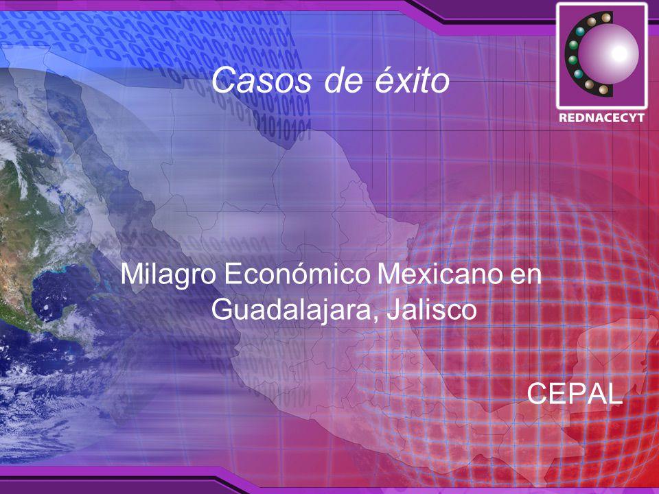 Casos de éxito Milagro Económico Mexicano en Guadalajara, Jalisco CEPAL