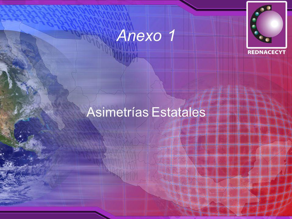 Anexo 1 Asimetrías Estatales