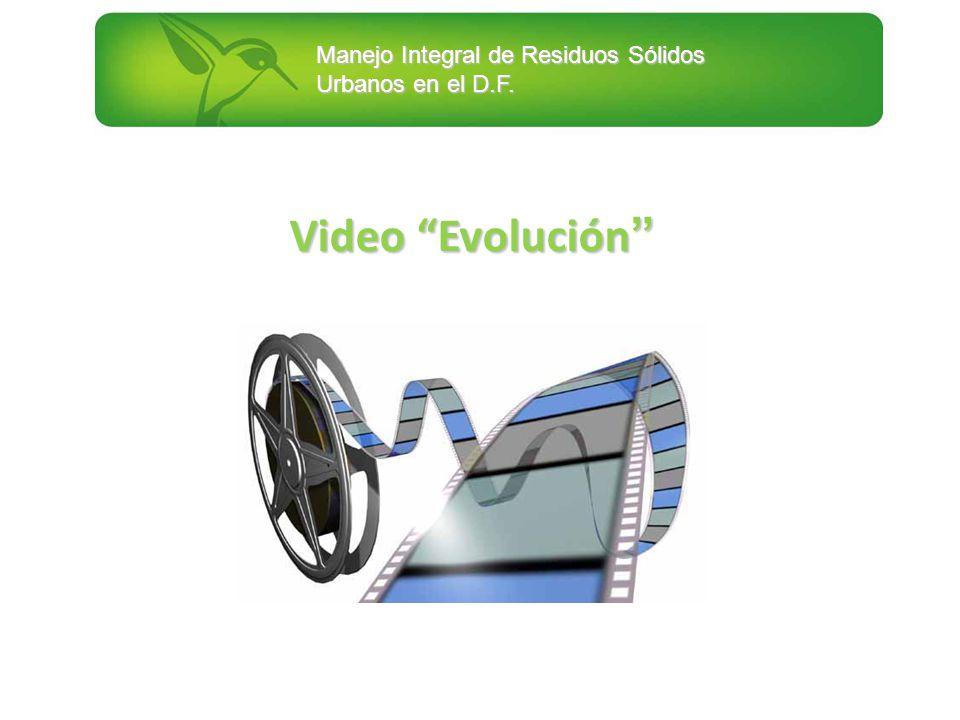 Manejo Integral de Residuos Sólidos Urbanos en el D.F. Video Evolución Video Evolución
