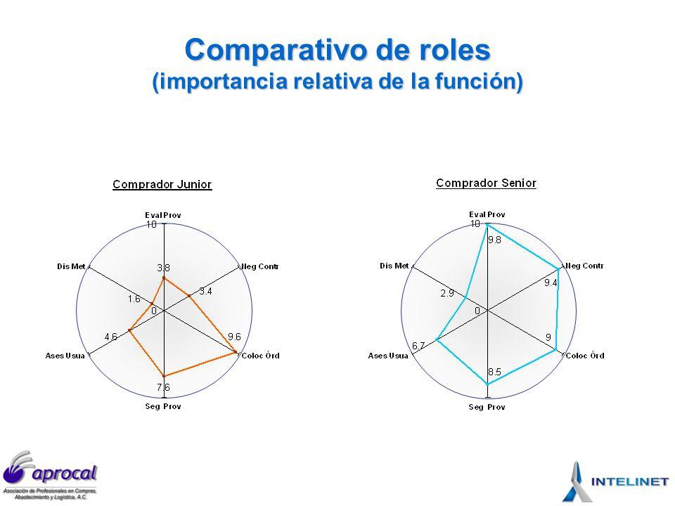 Competencias Inicialmente se definieron siete principales que después fueron corroboradas en las entrevistas.