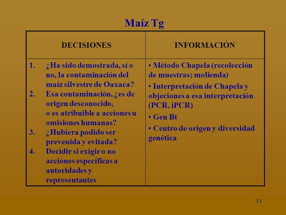 12 Información necesaria: ¡AQUÍ ESTA LA CIENCIA.