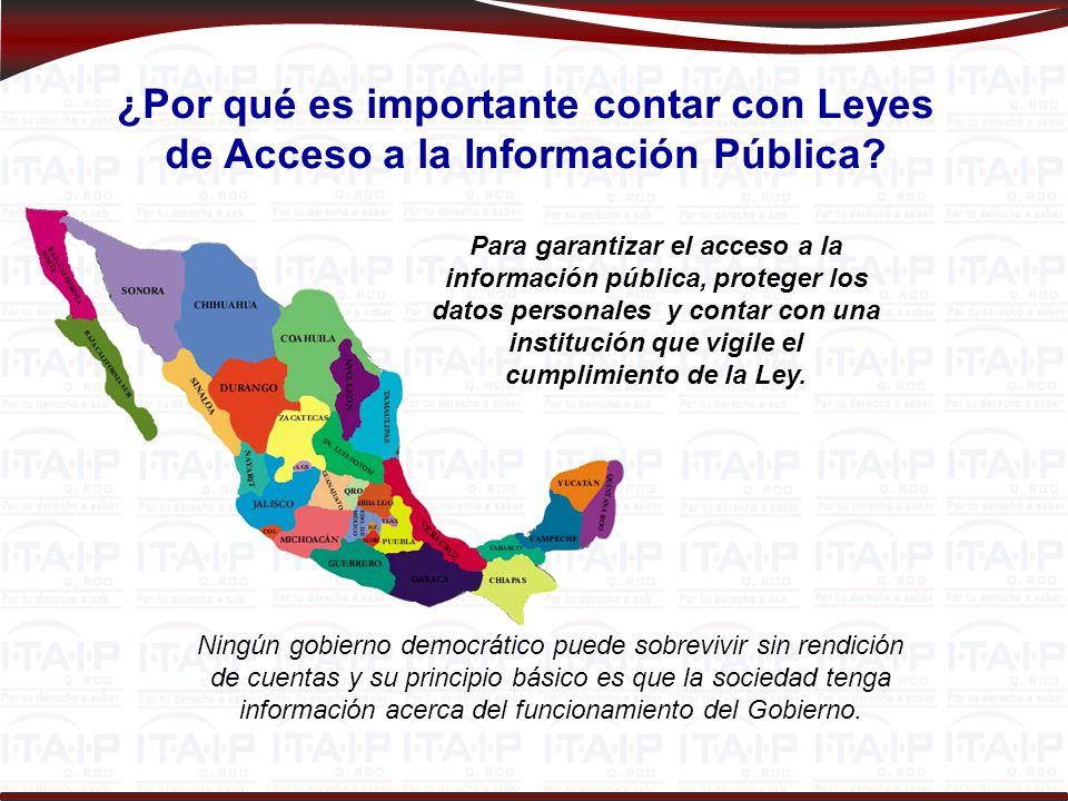 El Derecho de Acceso a la Información: Una Garantía Individual Constitucional Toda la información es pública.