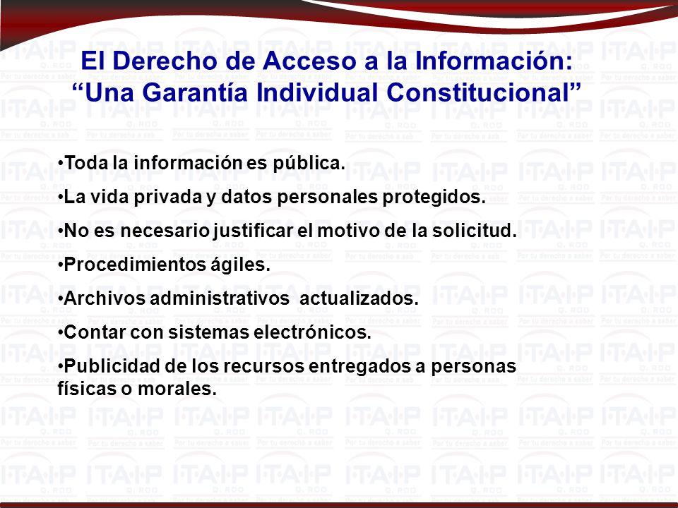 ¿Para qué nos sirve el Derecho de Acceso a la Información Pública.