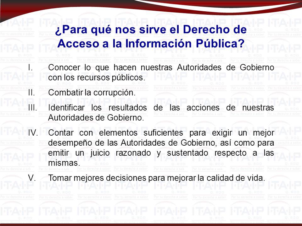 ¿Qué es el Instituto de Transparencia y Acceso a la Información Pública de Quintana Roo (ITAIPQROO).