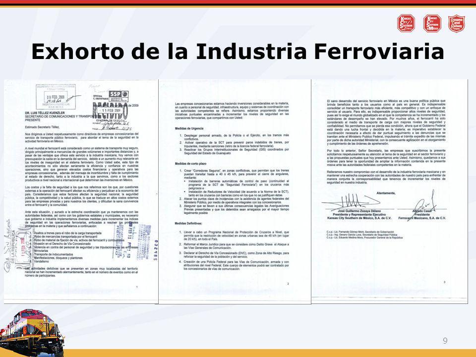 Exhorto de la Industria Ferroviaria 9