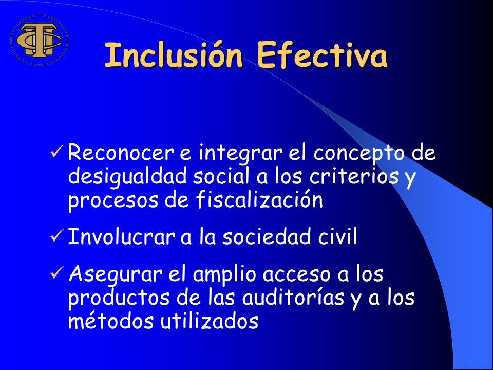 ¿Cómo abordar los aspectos relativos a la justicia social en los servicios públicos y programas evaluados.