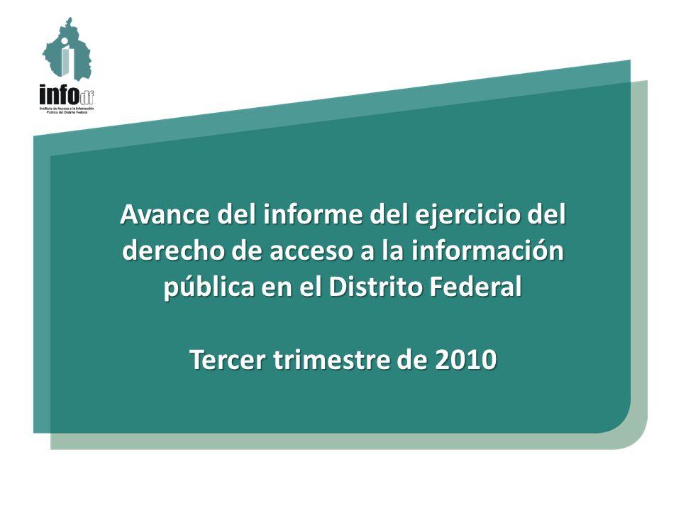 Solicitudes de acceso a la información pública 3er.