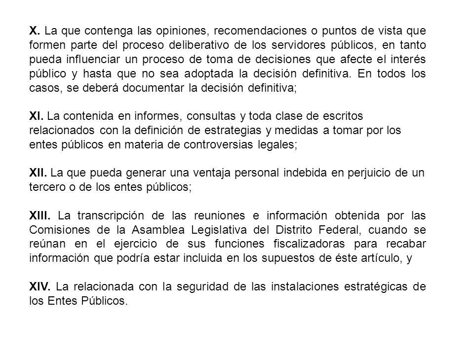 Características y obligaciones respecto de la información reservada.