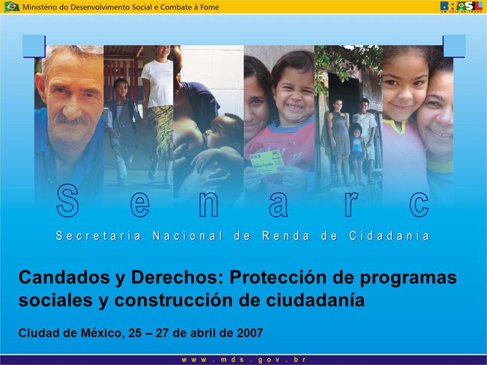 Candados y Derechos: Protección de programas sociales y construcción de ciudadanía Ciudad de México, 25 – 27 de abril de 2007