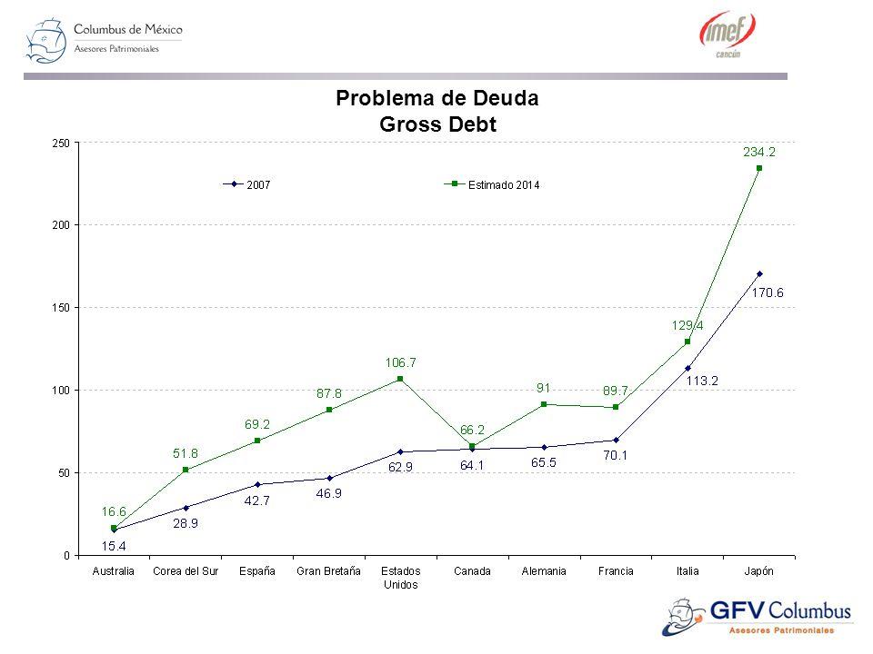 Problema de Deuda Gross Debt