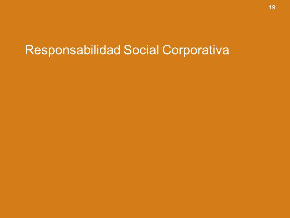 19 Responsabilidad Social Corporativa